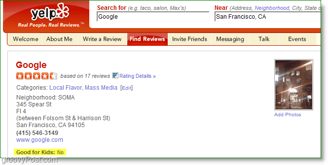 Yelp Backs Out of Google Acquisition [groovyNews]